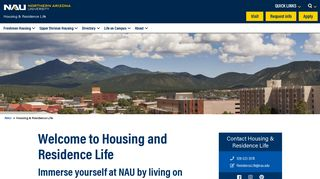 Housing & Residence Life | Live, Learn and Connect with NAU's ...