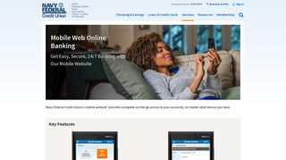 Mobile Web Banking | Navy Federal Credit Union