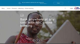 NBC | Online banking