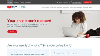Your online bank | National Bank