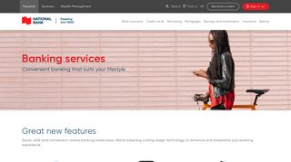 Banking services | National Bank