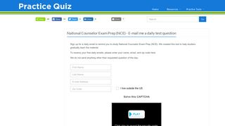 National Counselor Exam Prep (NCE) - Sign-up for Free Question of ...