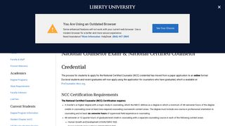 National Counselor Exam & National Certified Counselor Credential ...