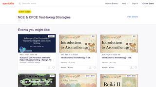 NCE & CPCE Test-taking Strategies Workshop Tickets, Sat, Feb 23 ...