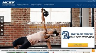 NCSF: Personal Trainer Certification   Personal Training Certification