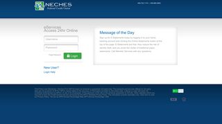Sign up for Neches Federal Credit Union