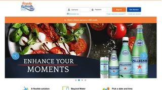 Log in :: ReadyRefresh :: Nestlé Waters