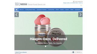 Homepage   NESTLÉ® USA