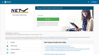 Net Federal Credit Union: Login, Bill Pay, Customer Service and Care ...