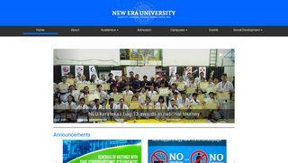 New Era University