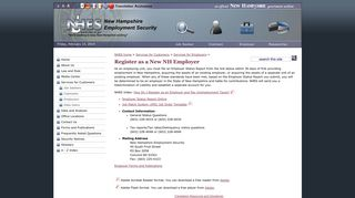 Register as a New NH Employer - NH Employment Security - NH.gov