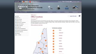 Office Locations | New Hampshire Employment Security