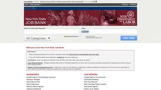 New York State Job Bank - National Labor Exchange