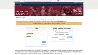 Employer Login   US National Labor Exchange - New York State Job ...
