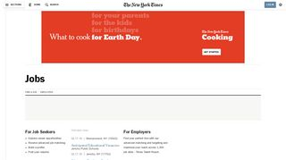 Jobs - The New York Times