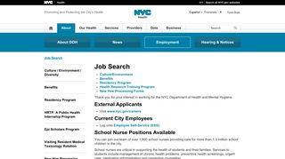 Job Search - NYC.gov