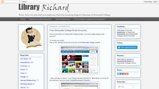 Library Richard: Free Newcastle College Email Accounts