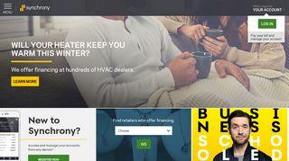 MySynchrony Consumer Financing   Synchrony
