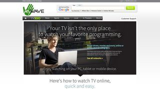 Home-Welcome to NewWave Communications - nwcable.net