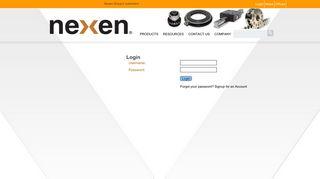 Login - Nexen Group