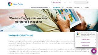 Real-Time Workforce Scheduling Software | NextCrew