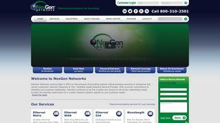 Welcome to NexGen Networks | NexGen Networks