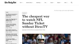 NFL Sunday Ticket Streaming: The Cheapest Way to Watch Without ...