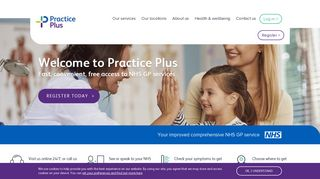 Fast Convenient Free: access to NHS Services | Practice Plus
