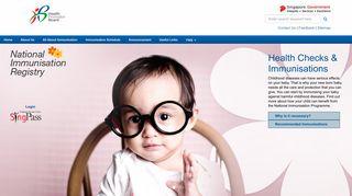 National Immunisation Registry