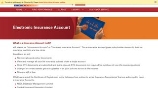 e-Insurance Account - ICICI Prudential