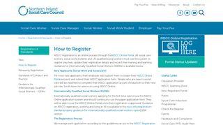 NISCC Online Portal | Registration Process | NISCC How to Register |