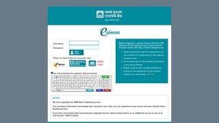 NMB Bank : Internet Banking