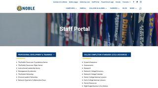 Staff Portal | Noble Network of Charter Schools