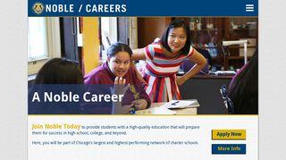 Noble Network of Charter Schools Careers - Jobvite