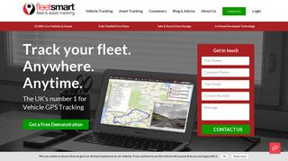 Vehicle Tracking   The UK's Number 1 For GPS Fleet Tracking