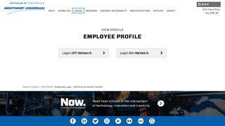 Employee Login - Northrop Grumman Careers