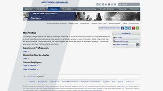 My Profile - Northrop Grumman Corporation