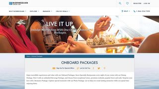 Onboard Packages - NCL