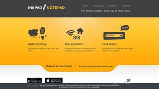InkPad Notepad - The easy, elegant notes app for Android, mobile ...