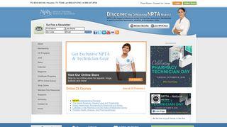 NPTA National Pharmacy Technician Association advancing the ...