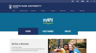 myNPU Student - North Park University