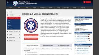 EMT Certification - nremt