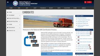 National EMS Certification - nremt