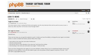 login to nrows - Thursby Software Forum
