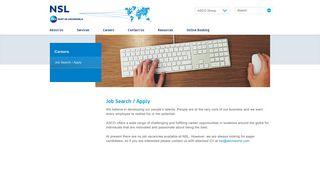 Job Search / Apply | NSL