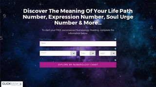 FREE Personalized Numerology Report - Calculate Life Path Number ...