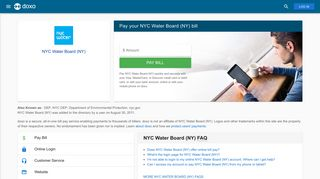 NYC Water Board (NY): Login, Bill Pay, Customer Service and Care ...