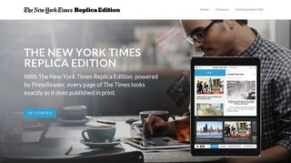 The New York Times Replica Edition
