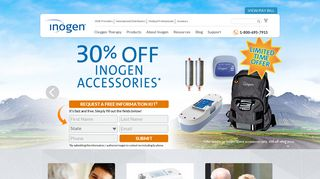 Inogen Portable Oxygen Concentrators | Oxygen Therapy