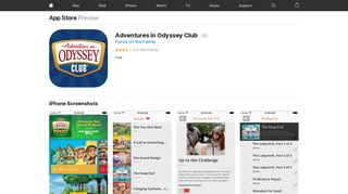 Adventures in Odyssey Club on the App Store - iTunes - Apple